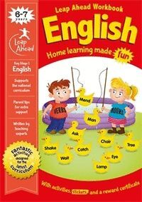 LEAP AHEAD WORKBOOK ENGLISH. 6-7 YEARS