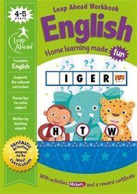 LEAP AHEAD WORKBOOK ENGLISH 4-5 YEARS