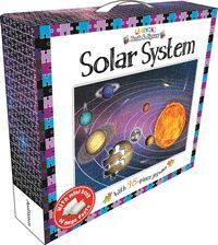 LEARNING BOOK AND JIGSAW SOLAR SYSTEM - 48 PIECE