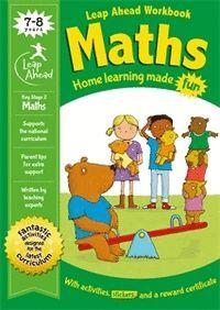 LEAP AHEAD WORKBOOK MATHS 7-8 YEARS