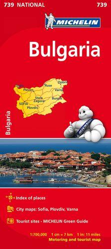 MAPA 739 BULGARIA