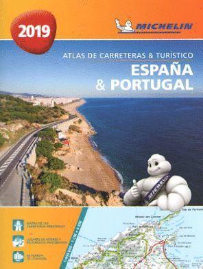 ATLAS DE CARRETERAS Y TURISTICO ESPAÑA & PORTUGAL