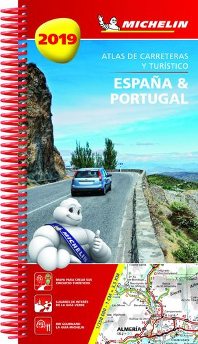ATLAS DE CARRETERAS ESPAÑA & PORTUGAL 2019