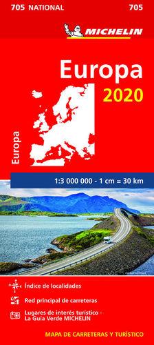 MAPA 705 EUROPA 2020