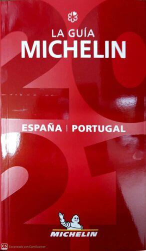 LA GUIA MICHELIN ESPAÑA PORTUGAL 2021