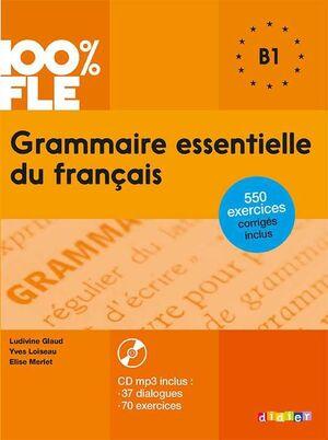 GRAMMAIRE SSENTIELLE DU FRANCAIS B1 + CD