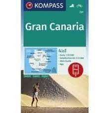 GRAN CANARIA- MAPA 1:50.000
