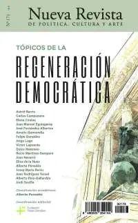NUEVA REVISTA DE POLÍTICA, CULTURA Y ARTE N. 173 REGENERACIÓN DEMOCRÁTICA