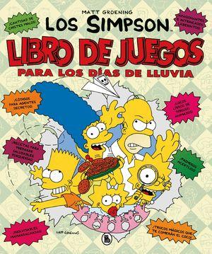 LIBRO DE JUEGOS PARA LOS DÍAS DE LLUVIA. LOS SIMPSON. ACTIVIDADES
