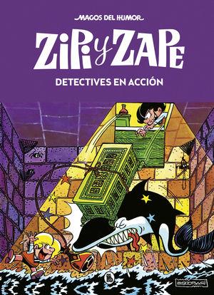 ZIPI Y ZAPE. DETECTIVES EN ACCIÓN. MAGOS DEL HUMOR 16