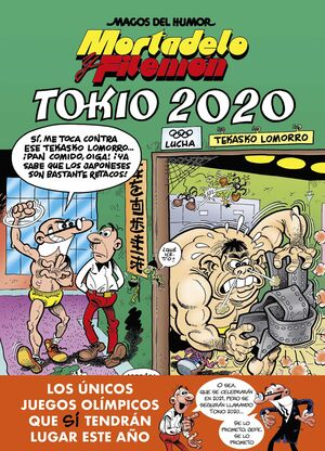 TOKIO 2020 - MORTADELO Y FILEMÓN