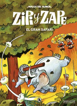 ZIPI Y ZAPE. EL GRAN SAFARI . MAGOS DEL HUMOR 18