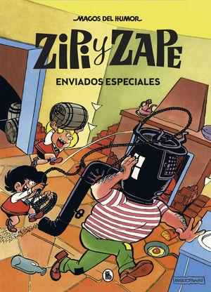 ZIPI Y ZAPE. ENVIADOS ESPECIALES . MAGOS DEL HUMOR 23