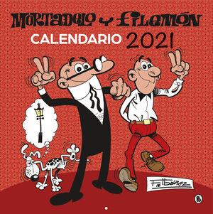 CALENDARIO 20201 MORTADELO Y FILEMON