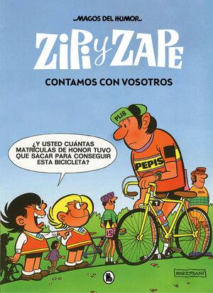 CONTAMOS CON VOSOTROS. ZIPI Y ZAPE - MAGOS DEL HUMOR 209