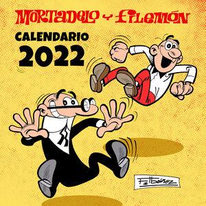 CALENDARIO 2022 MORTADELO Y FILEMÓN