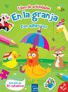 LIBRO DE ACTIVIDADES CON ADHESIVOS 1. EN LA GRANJA