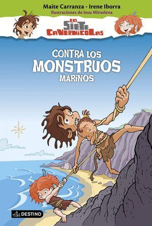 CONTRA LOS MONSTRUOS MARINOS - LOS SIETE CAVERNÍCOLAS 4
