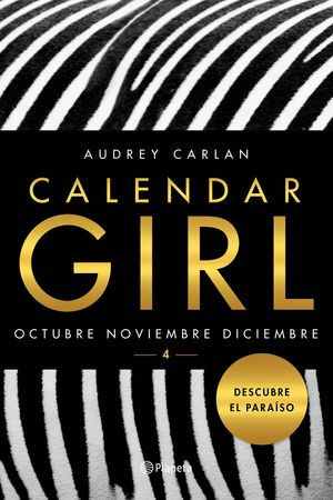 CALENDAR GIRL 4 OCTUBRE NOVIEMBRE DICIEMBRE