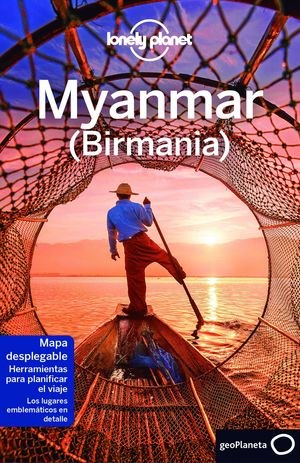 MYANMAR (BIRMANIA) - LONELY PLANET