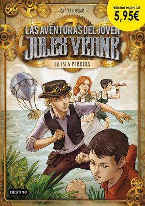 LA ISLA PERDIDA - LAS AVENTURAS DE JULIO VERNE 1. EDICIÓN ESPECIAL 5,72