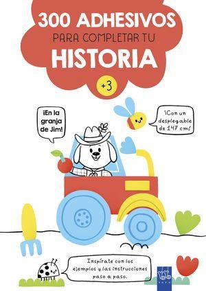 EN LA GRANJA DE JIM! 300 ADHESIVOS PARA COMPLETAR TU HISTORIA