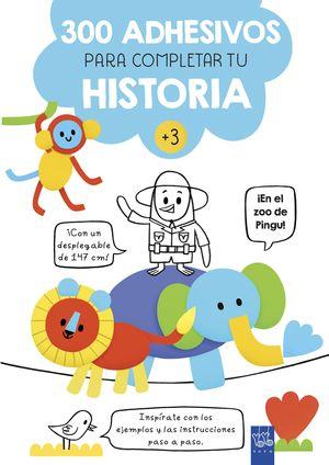 EN EL ZOO DE PINGU! 300 ADHESIVOS PARA COMPLETAR TU HISTORIA