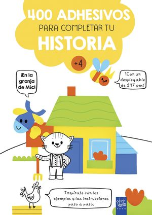 EN LA GRANJA DE MIC! 400 ADHESIVOS PARA COMPLETAR TU HISTORIA
