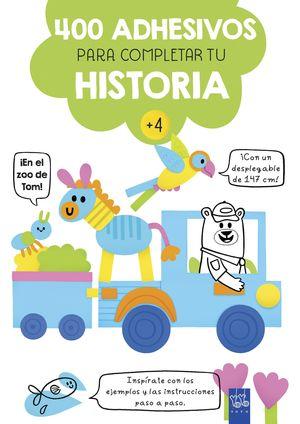 EN EL ZOO DE TOM!. 400 ADHESIVOS PARA COMPLETAR TU HISTORIA