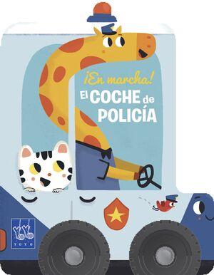 EL COCHE DE POLICÍA. EN MARCHA!
