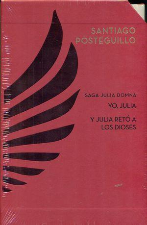 ESTUCHE SAGA JULIA DOMNA (YO, JULIA + Y JULIA RETÓ A LOS DIOSES)