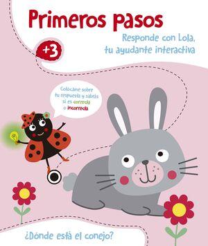 DÓNDE ESTÁ EL CONEJO?. PRIMEROS PASOS +3
