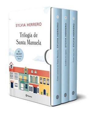 ESTUCHE SANTA MANUELA (CÓMO CASARSE EN SANTA MANUELA + LONDRES TE ESPERA + TIENES UNA CITA + LIBRETA)