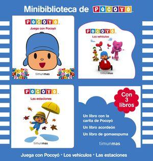 MINIBIBLIOTECA DE POCOYÓ (CAJA 3 LIBROS)