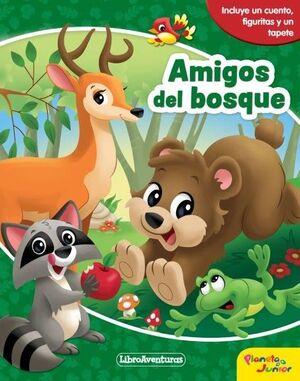 AMIGOS DEL BOSQUE. LIBROAVENTURAS (CAJA)