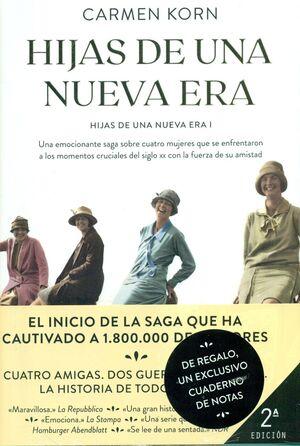 PACK - HIJAS DE UNA NUEVA ERA + CUADERNO DE NOTAS