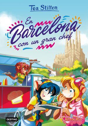 EN BARCELONA CON UN GRAN CHEF. TEA STILTON 40