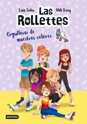 LAS ROLLETTES 3 ORGULLOSAS DE NUESTROS COLORES