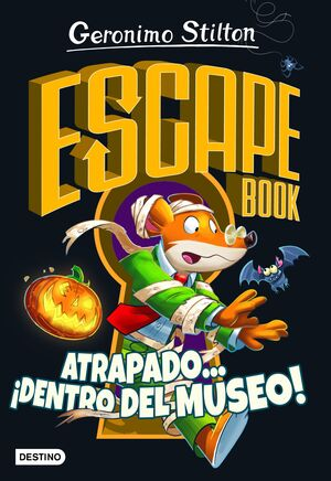 ESCAPE BOOK. ATRAPADO... DENTRO DEL MUSEO!