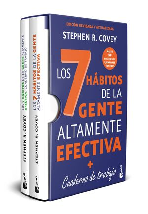 PACK -  LOS 7 HÁBITOS DE LA GENTE ALTAMENTE EFECTIVA + CUADERNO DE TRABAJO