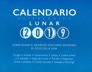 CALENDARIO ASTROLOGICO LUNAR 2019