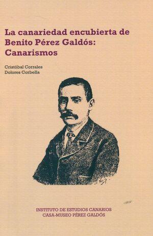 LA CANARIEDAD ENCUBIERTA DE BENITO PÉREZ GALDÓS. CANARISMOS
