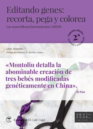 EDITANDO GENES: RECORTA, PEGA Y COLOREA