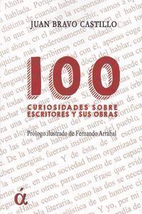 100 CURIOSIDADES SOBRE ESCRITORES Y SUS OBRAS