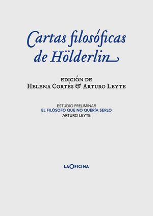 CARTAS FILOSÓFICAS DE HÖLDERLIN