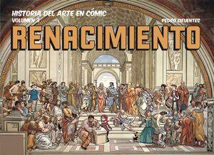 HISTORIA DEL ARTE EN CÓMIC T.3  EL RENACIMIENTO