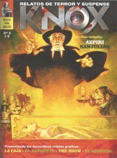 KNOX N.1 RELATOS DE TERROR Y SUSPENSE