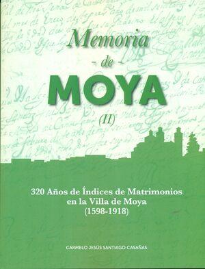 MEMORIA DE MOYA T.II