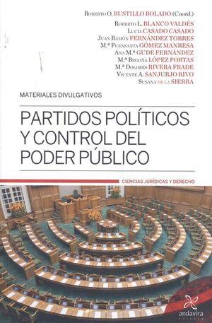 PARTIDOS POLÍTICOS Y CONTROL DEL PODER PÚBLICO