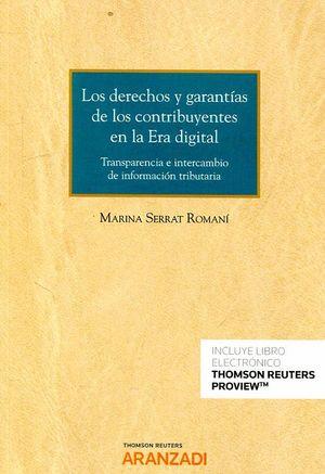 DERECHOS Y GARANTÍAS DE LOS CONTRIBUYENTES EN LA ERA DIGITAL
